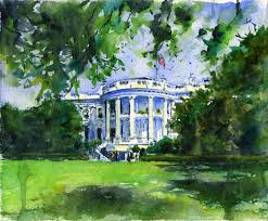 white-house-painting